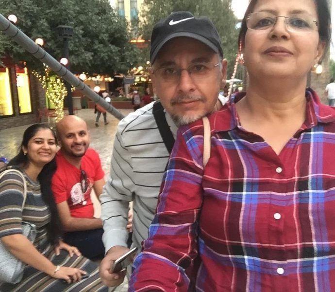 sakshi dhoni family