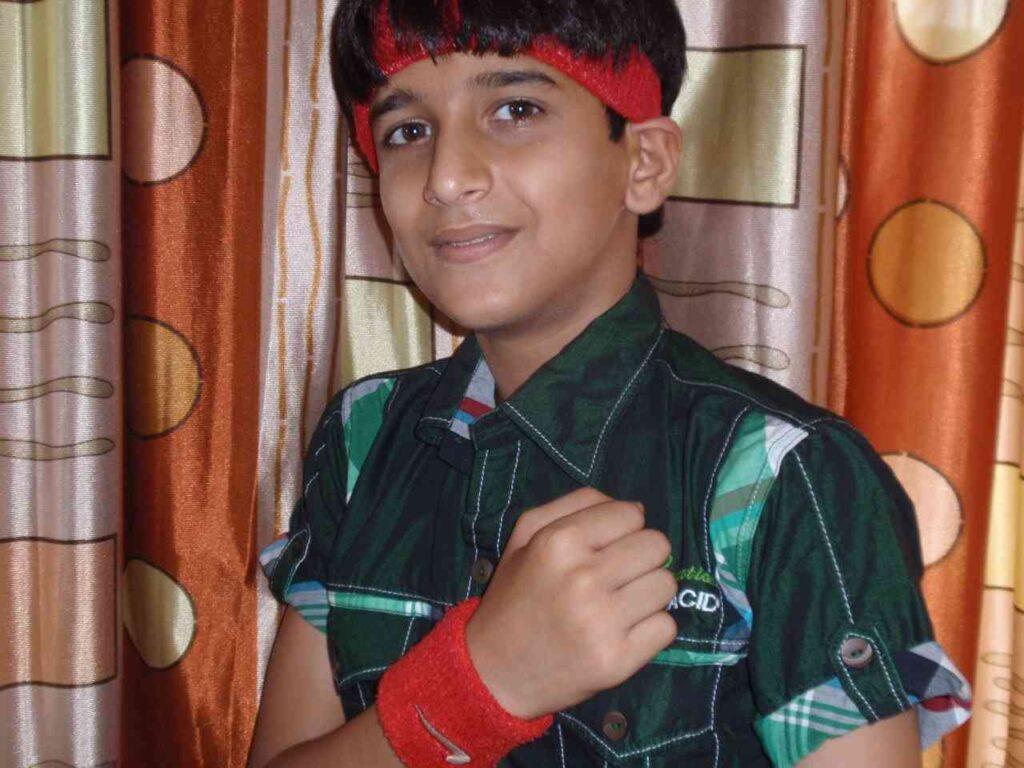 Bhavin Bhanushali Childhood Picture