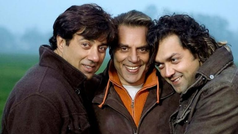 Dharmendra With His Sons