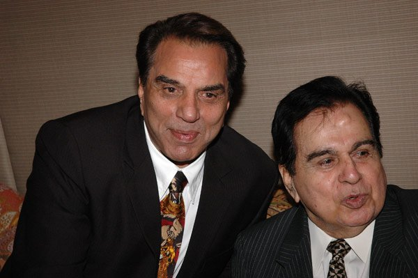 Dharmendra with Dilip Kumar