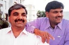 Harshad Mehta with Ashwin Mehta