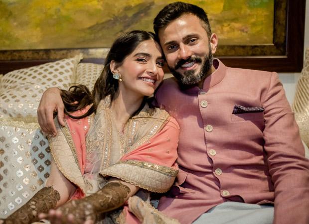 Anand Ahuja with Sonam Kapoor