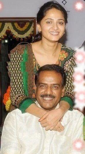Anushka Shetty father
