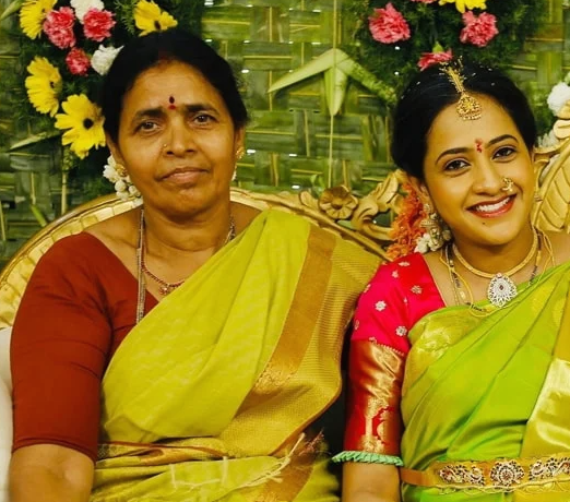 Lasya Manjunath Mother