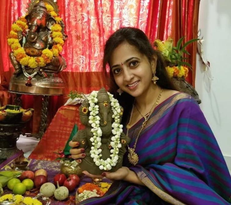 Lasya Manjunath following