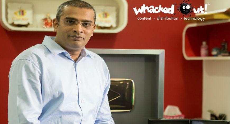 Ram Veerapaneni's whacked out media company
