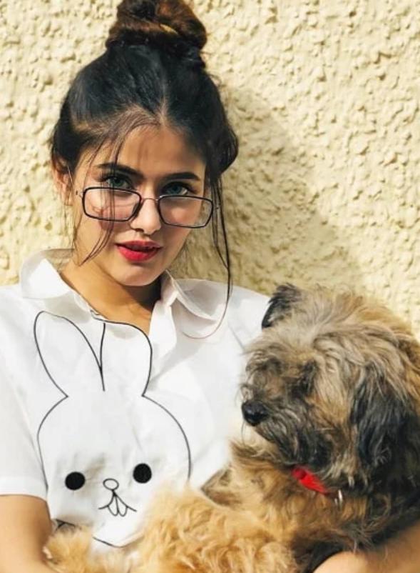 Anahita Bhooshan pet dog