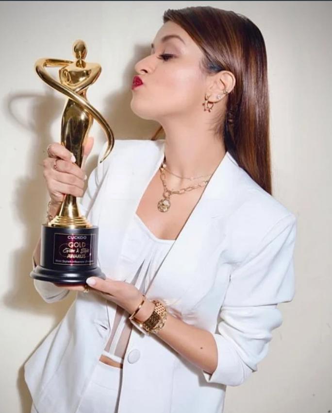 Avneet Kaur award