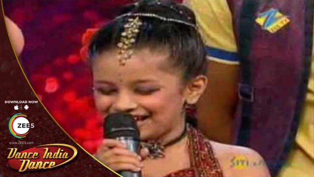 Avneet Kaur in Dance India Dance Li'l Masters