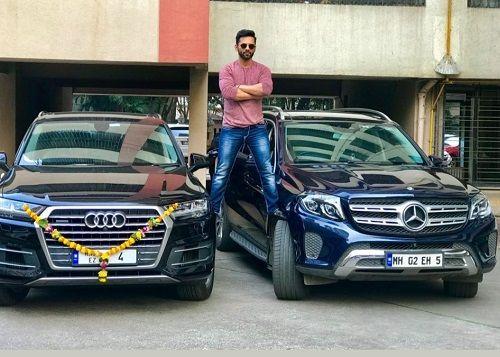 Rahul Vaidya Cars Collection
