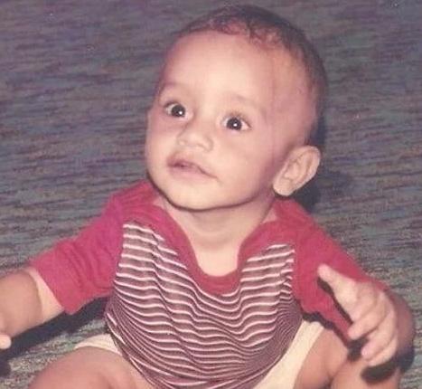 Rahul Vaidya Childhood Picture