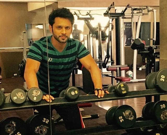 Rahul Vaidya Gym