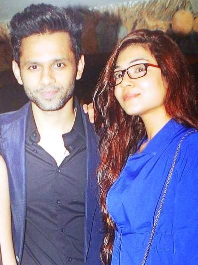 Rahul Vaidya with Syesha Kapoor