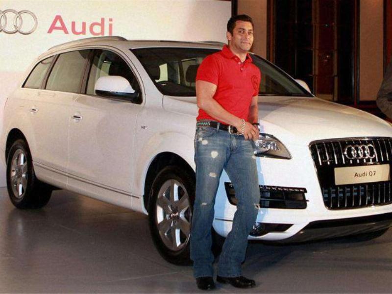 Salman Khan Audi Q7