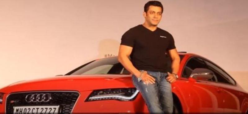 Salman Khan Audi R8