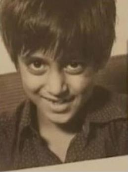 Salman Khan Childhood Picture