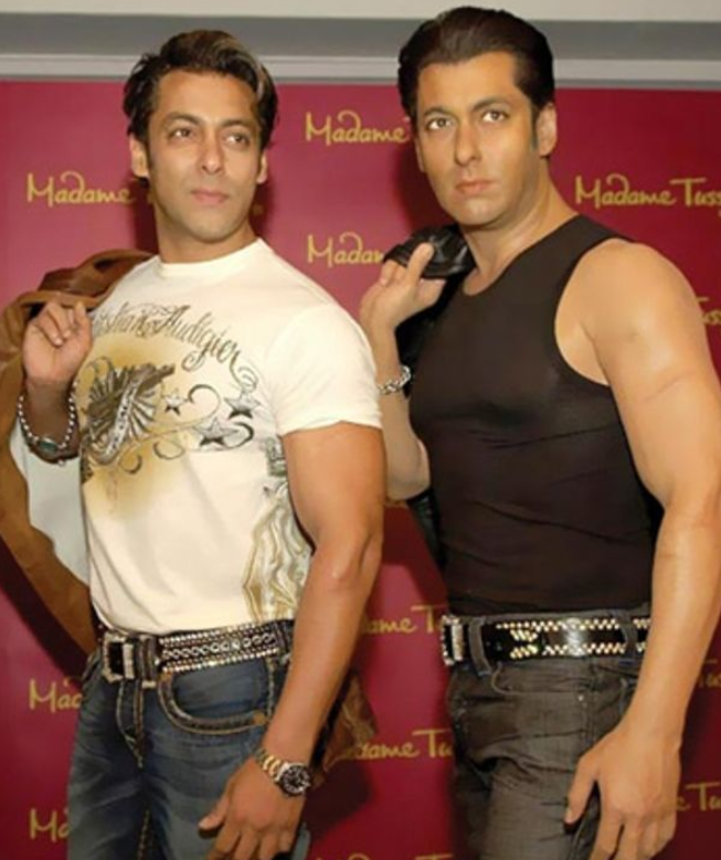 Salman Khan wax Statue