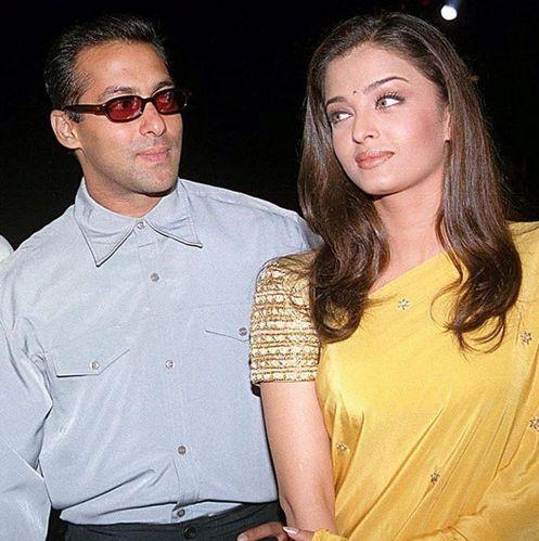 Salman Khan with Aishwarya Rai
