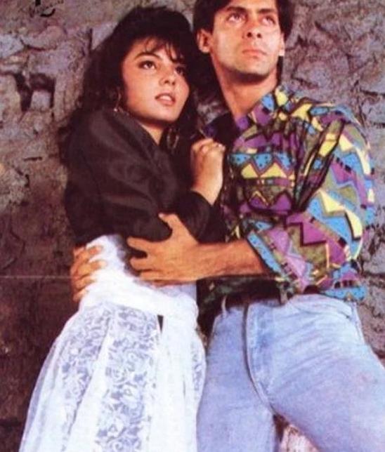 Salman Khan with Somy Ali