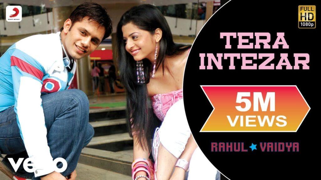 rahul vaidya music album Tera Intezar